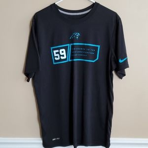 Carolina Panthers dri-fit shirt